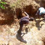 The Water Project: Musango Community, Ham Mwenje Spring -  Spring Excavation
