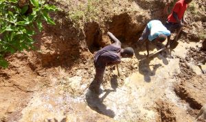 The Water Project:  Spring Excavation