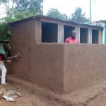 The Water Project: Esibeye Secondary School -  Latrine Construction