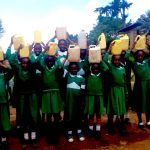 The Water Project: Eurusui Girls Primary School -  Carrying Water