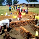 The Water Project: Chebunaywa Primary School -  Latrine Construction
