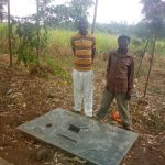 The Water Project: Shibuli Community, Khamala Spring -  Sanitation Platform