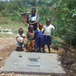 The Water Project: Shiyunzu Community, Imbukwa Spring -  Sanitation Platform
