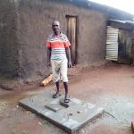 The Water Project: Ikonyero Community, Jesse Spring -  Sanitation Platform