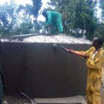 The Water Project: Shanjero Secondary School -  Dome Construction