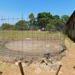 The Water Project: Bushili Secondary School -  Mesh Layer For Tank Wall
