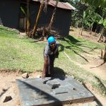 The Water Project: Bukhunyilu Community -  Sanitation Platform