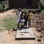 The Water Project: Shitungu Community E -  Sanitation Platform