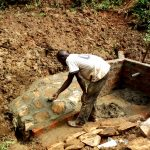 The Water Project: Elukani Community -  Construction