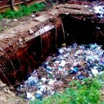 The Water Project: Erusui Girls Primary School -  Collapsed Pit Latrine