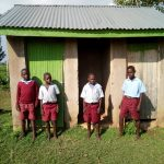 The Water Project: Namalasire Primary School -  Latrines