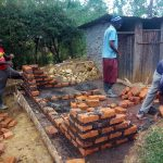 The Water Project: Shanjero Secondary School -  Latrine Construction