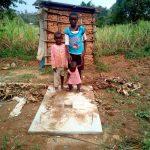 The Water Project: Shihingo Community, Mulambala Spring -  Sanitation Platform