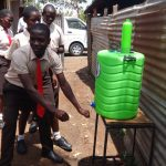The Water Project: Shibale Secondary School -  Hand Washing Station