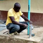 The Water Project: Lihanda Secondary School -  Tank Construction