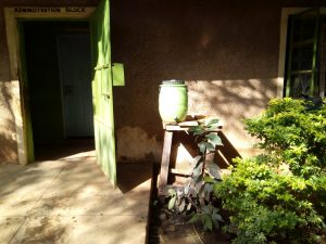The Water Project:  Staff Handwashing Station