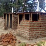 The Water Project: Muyere Secondary School -  Latrine Construction