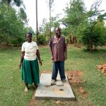 The Water Project: Ataku Community, Ataku Spring -  Sanitation Platform