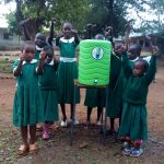 The Water Project: Esibeye Primary School -  Handwashing Station