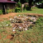 The Water Project: Namalasire Primary School -  Garbage Site