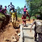 The Water Project: Shilakaya Community, Shanamwevo Spring -  Spring Protection Construction