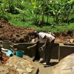 The Water Project: Ivulugulu Community, Ishangwela Spring -  Construction