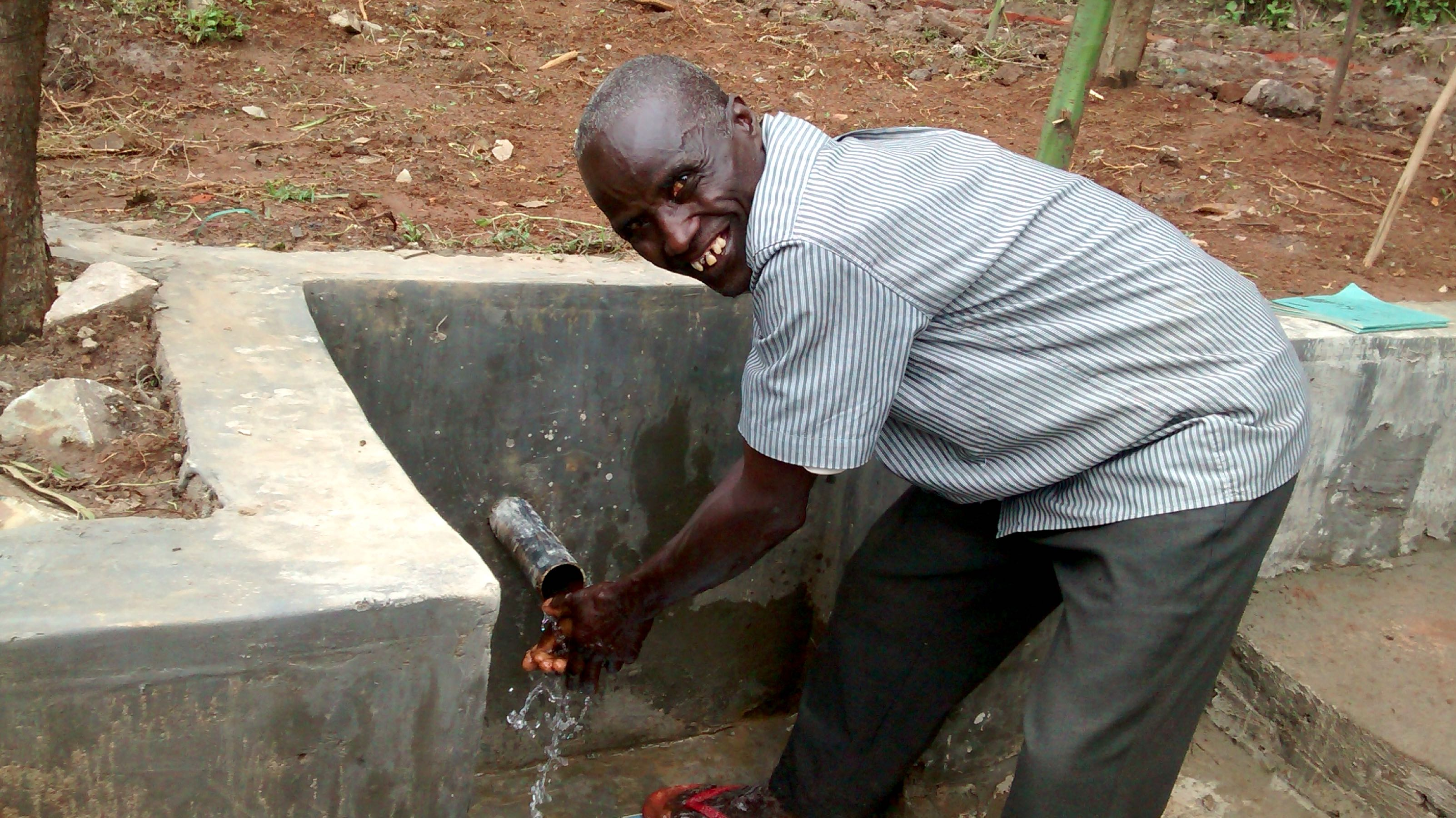 The Water Project : 17-kenya18096-clean-water
