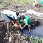 The Water Project: Musango Community B -  Filling The Spring Box