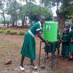 The Water Project: Esibeye Primary School -  Handwashing Station