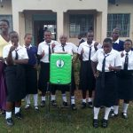 The Water Project: Shanjero Secondary School -  Handwashing Station