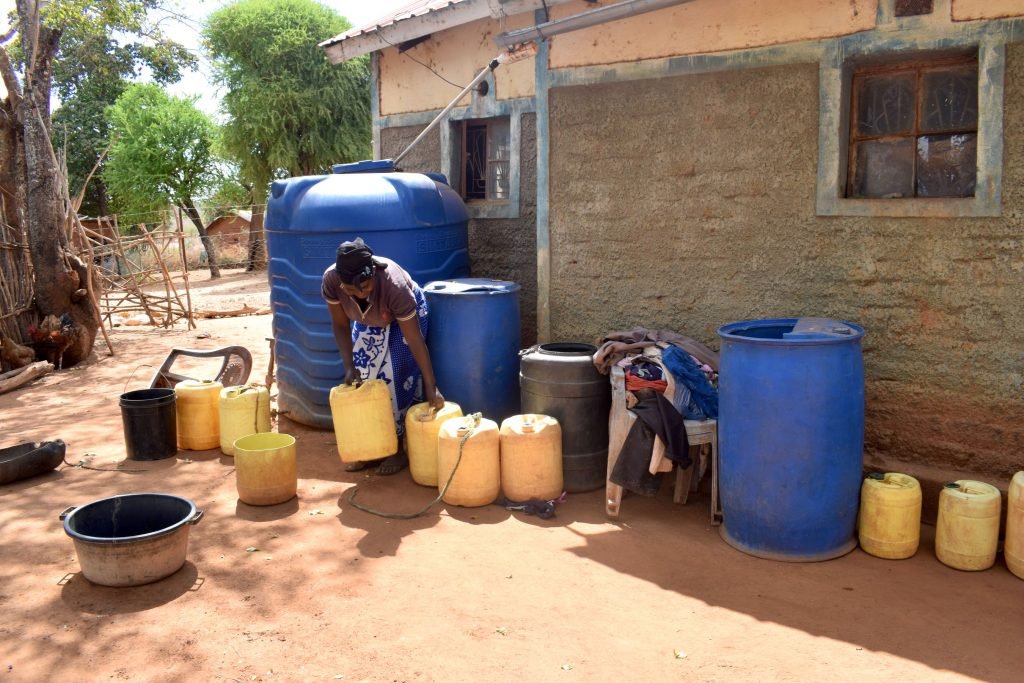 The Water Project : 18-kenya18178-muimi-water-storage