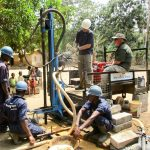 The Water Project: Kolia Community -  Drilling