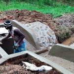 The Water Project: Bumavi Community A -  Spring Construction
