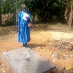The Water Project: Musango Community, Dawi Spring -  Sanitation Platform