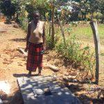 The Water Project: Sharambatsa Community A -  Sanitation Platform