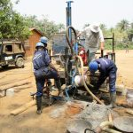 The Water Project: Sanya Community -  Drilling