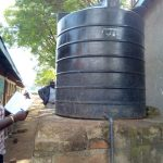 The Water Project: Namalasire Primary School -  The Small Plastic Tank