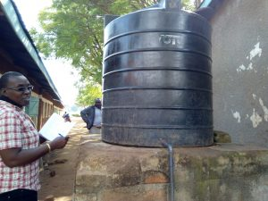 The Water Project:  The Small Plastic Tank