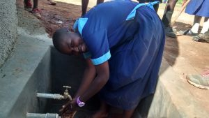 The Water Project:  Alexine Ongayi