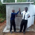 The Water Project: Shanjero Secondary School -  New Latrines