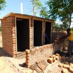 The Water Project: Bushili Secondary School -  Latrine Construction