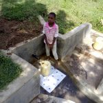 The Water Project: Shibuli Community, Khamala Spring -  Clean Water