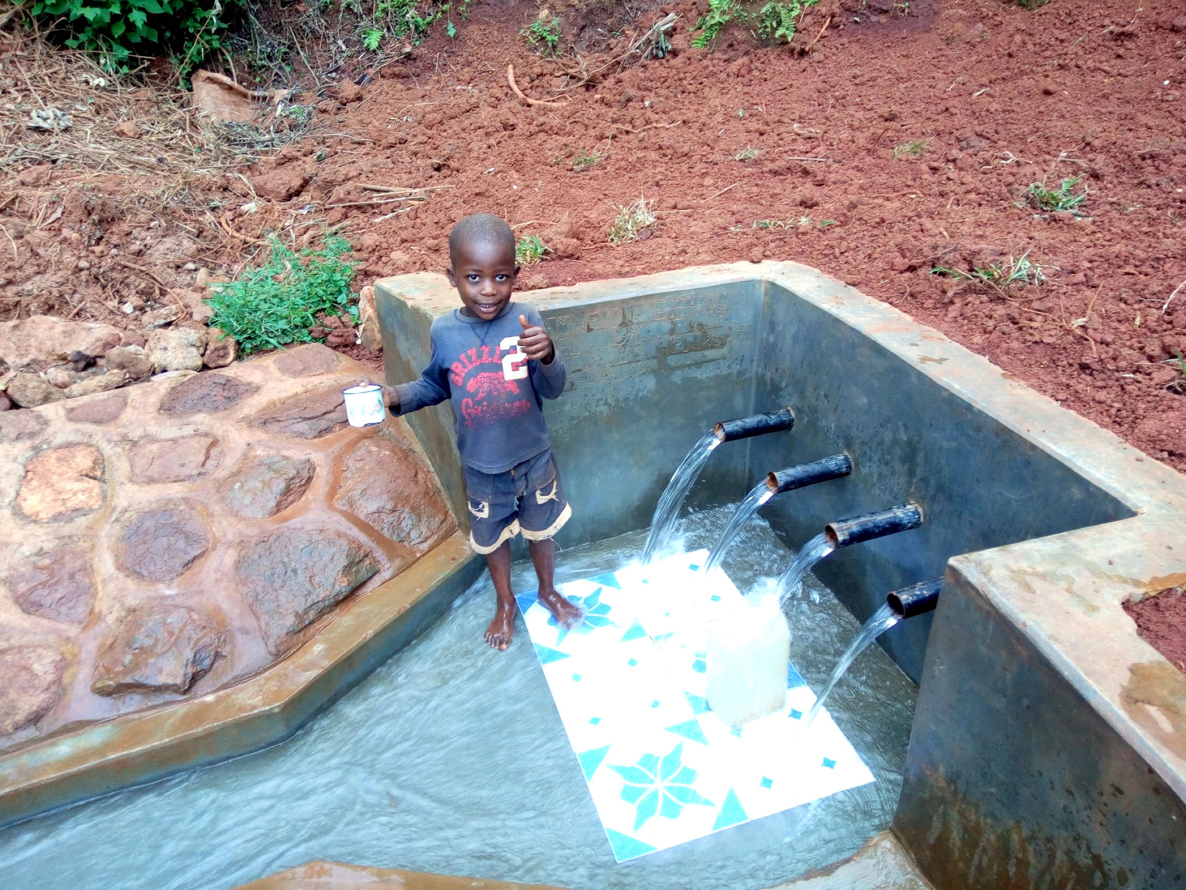 The Water Project : 20-kenya18090-clean-water