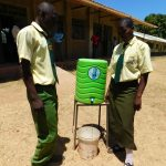 The Water Project: Bushili Secondary School -  Handwashing Station