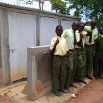The Water Project: Bushili Secondary School -  New Latrines