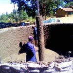 The Water Project: Chebunaywa Primary School -  Tank Construction