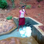 The Water Project: Shilakaya Community, Shanamwevo Spring -  Clean Water