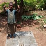 The Water Project: Ivulugulu Community -  Finished Sanitation Platform