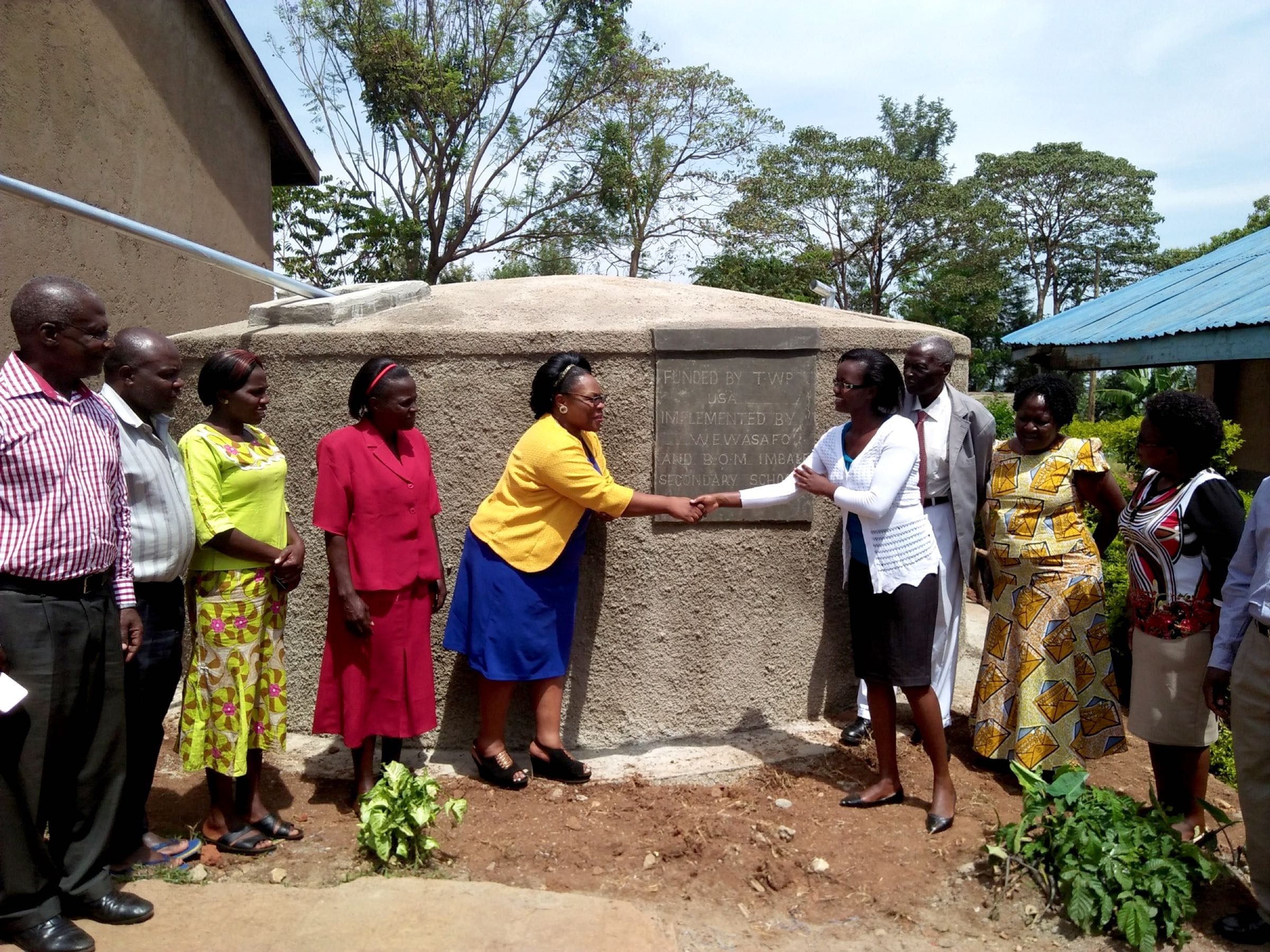 The Water Project : 23-kenya18053-handing-over-ceremony