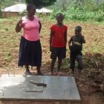 The Water Project: Ivulugulu Community, Ishangwela Spring -  Finished Sanitation Platform